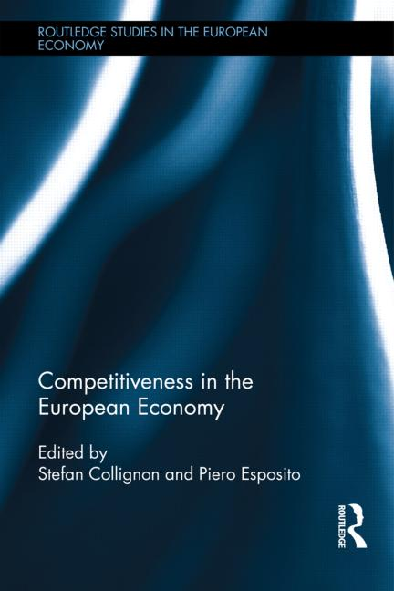 book cover of Competitiveness in the european economy